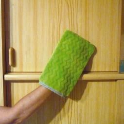 Microfibre de ménage - Gant poussière