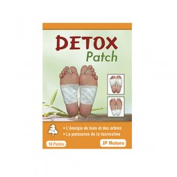 Détox patch - Foot patch JP NATURE - 10 patchs