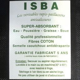 Tapis coton ISBA - Tapis coton ISBA 50x70