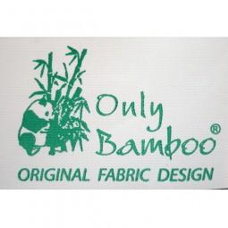 Toilette et bain Bambou - Serviette grise 50x90 cm