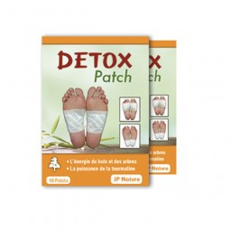 Détox patch - Foot patch JP NATURE - Détox simple - 20 patchs