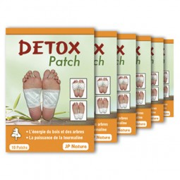Détox patch - Foot patch JP NATURE - Détox renforcée - 60 patchs