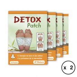 Détox patch - Foot patch JP NATURE - Détox complète x2 - 80 patchs