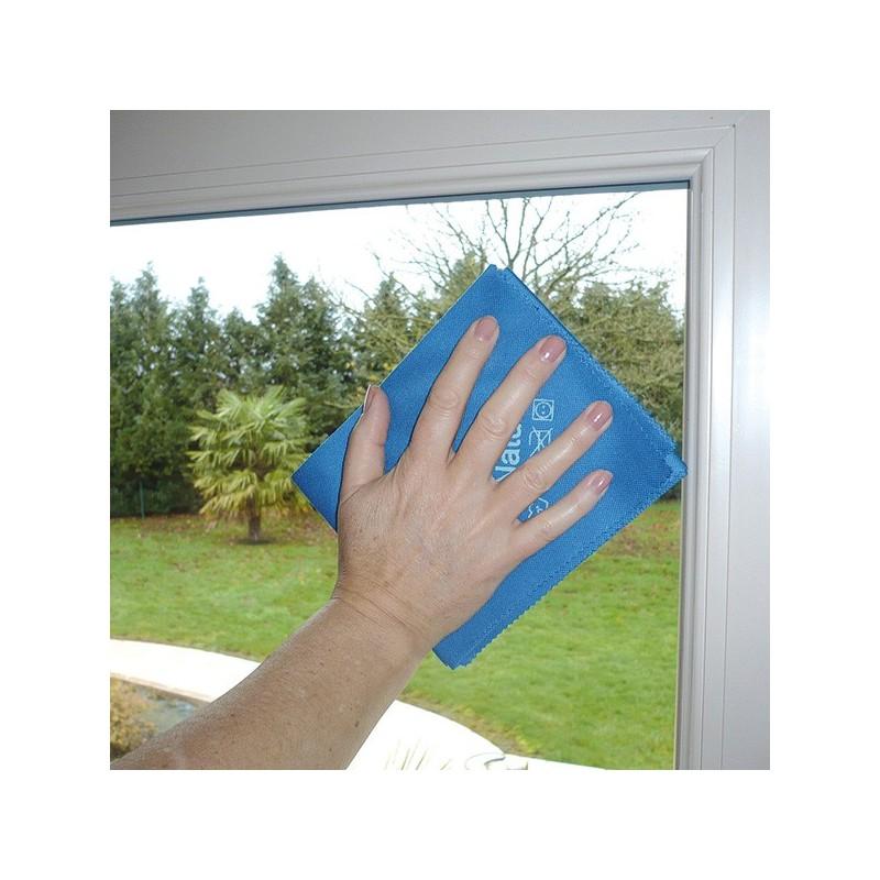 """Microfibre de ménage - Spécial vitre """"chiffon magique"""""""