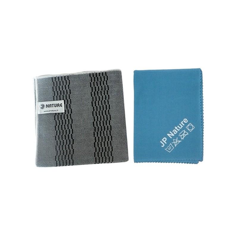 Microfibre de ménage - Kit vitre