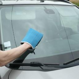 Microfibre de ménage - Gant vitre - Gant auto
